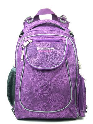 Рюкзаки STERNBAUER. Цвет: черный, фиолетовый