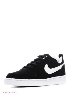 Кеды NIKE COURT BOROUGH LOW. Цвет: черный