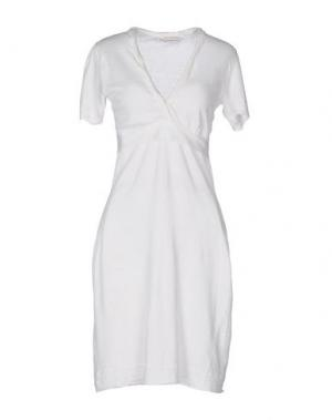 Короткое платье MARIA DI RIPABIANCA. Цвет: белый