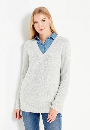 Пуловер Tom Tailor Denim. Цвет: серый