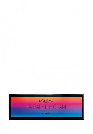 Тени для век LOreal Paris L'Oreal. Цвет: разноцветный