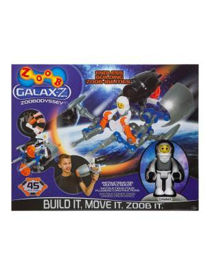 Набор Одиссей конструктор ZOOB 160220-3. Цвет: белый, оранжевый, серый, синий, черный