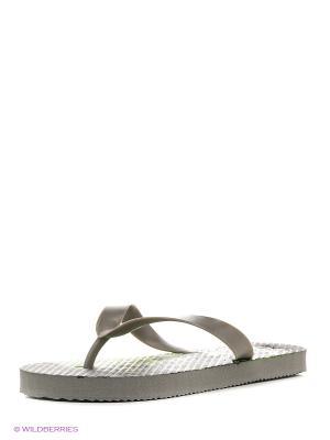 Пляжная обувь детская Mon Ami. Цвет: серый
