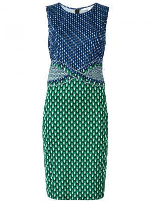 Платье Evita Diane Von Furstenberg. Цвет: многоцветный