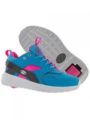Роликовые кроссовки Heelys Force 770839 (13C). Цвет: голубой, розовый