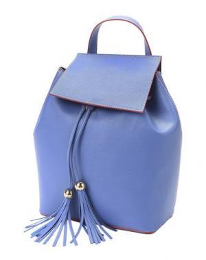 Рюкзаки и сумки на пояс FRANCO PUGI. Цвет: лазурный