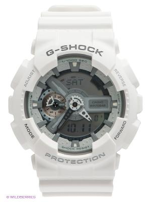 Часы G-SHOCK GA-110C-7A CASIO. Цвет: белый