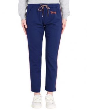 Повседневные брюки TOMMY JEANS. Цвет: синий