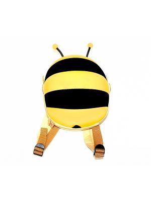 Ранец детский ПЧЕЛКА желтый BRADEX. Цвет: желтый