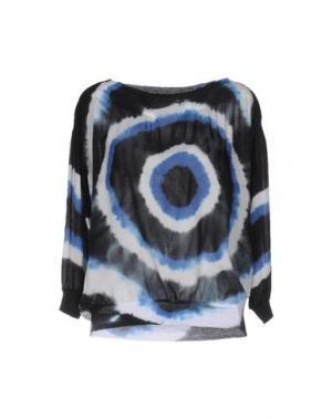Блузка BRAND UNIQUE. Цвет: лазурный