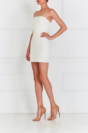 Платье корсетное NATALIA GART. Цвет: белый