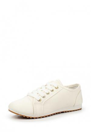 Кроссовки Shi Tino. Цвет: белый