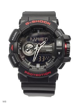 Часы G-Shock GA-400HR-1A CASIO. Цвет: черный