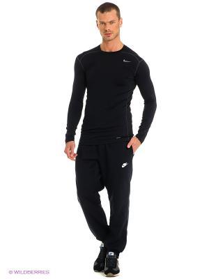 Брюки Nike. Цвет: черный