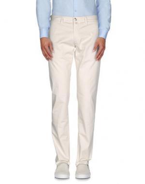 Повседневные брюки BETWOIN. Цвет: слоновая кость