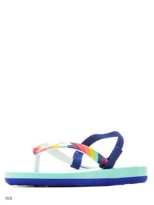 Пантолеты ROXY. Цвет: голубой