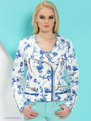Куртка PEPE JEANS LONDON. Цвет: белый, голубой