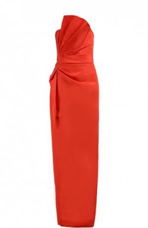 Вечернее платье J.Mendel. Цвет: красный