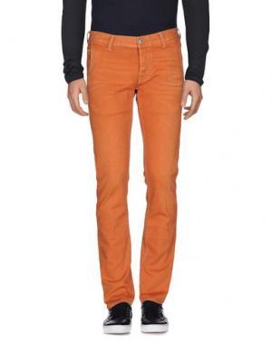 Джинсовые брюки CARE LABEL. Цвет: ржаво-коричневый