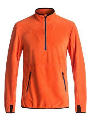 Джемпер Quiksilver. Цвет: оранжевый, рыжий