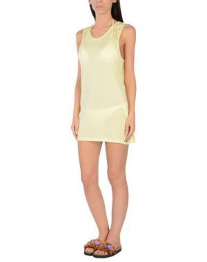 Пляжное платье BLUGIRL BLUMARINE BEACHWEAR. Цвет: светло-желтый