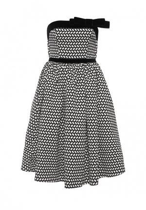 Платье Isabel Garcia. Цвет: черно-белый