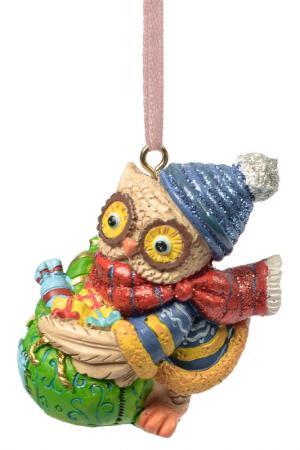 Совушка и мешок с подарками MAGIC HOME. Цвет: красный, зеленый