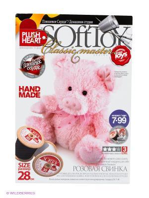 Свинка Plush Heart. Цвет: белый, розовый, черный