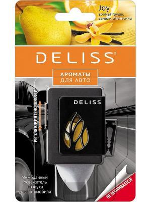 Мембранный освежитель воздуха для автомобиля Deliss. Цвет: оранжевый