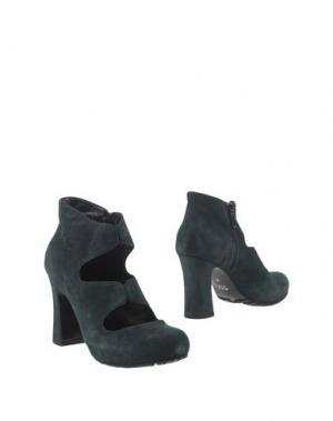 Полусапоги и высокие ботинки GIONATA. Цвет: зеленый