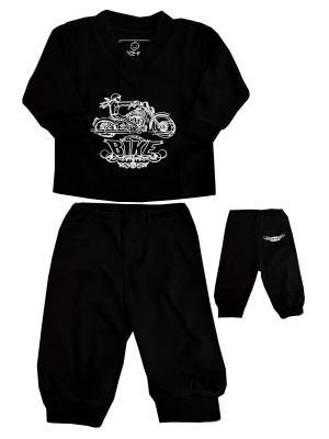 Пижама NICE-KID. Цвет: черный