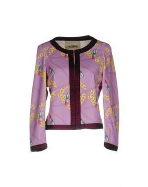 Пиджак TEE-TREND. Цвет: светло-фиолетовый