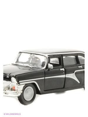 Машина ГАЗ-13 Чайка гражданская AUTOTIME. Цвет: черный