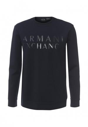 Свитшот Armani Exchange. Цвет: синий