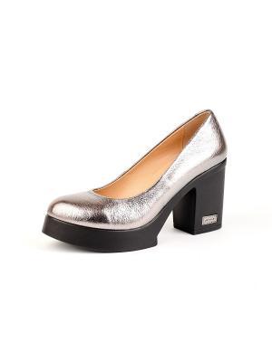 Туфли Lottini. Цвет: бронзовый