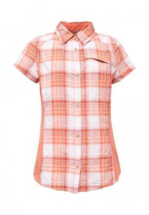 Рубашка Columbia. Цвет: оранжевый