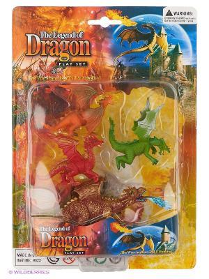Набор фигурок Драконы Happy Kin. Цвет: желтый