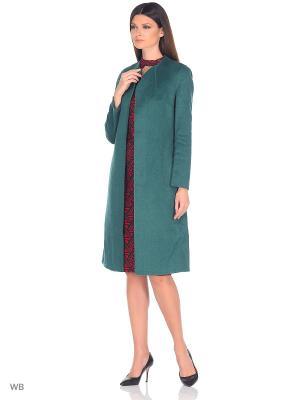 Пальто Isabel Garcia. Цвет: зеленый