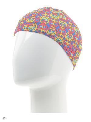 Детская шапочка для плавания Speedo. Цвет: розовый, красный, сиреневый