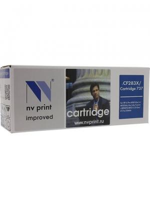 Картридж NVP совместимый HP CF283X для LaserJet Pro M201dw/M201n/M225dw/M225rdn NV Print. Цвет: черный