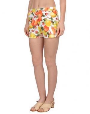 Пляжные брюки и шорты MISS NAORY. Цвет: оранжевый