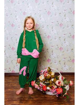Комплект ЛисФлис. Цвет: зеленый, розовый