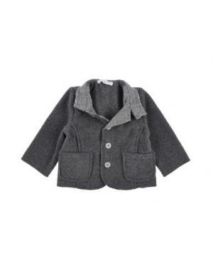 Пиджак LES PARROTINES. Цвет: свинцово-серый