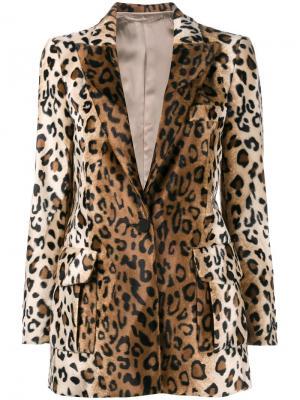 Пиджак Varenne Blazé Milano. Цвет: коричневый