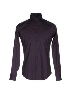 Pубашка LEXINGTON. Цвет: баклажанный