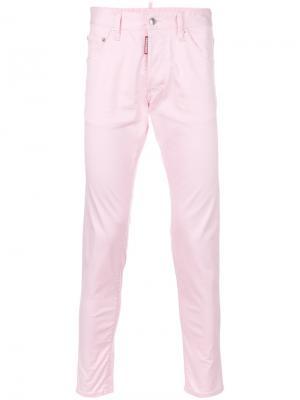 Джинсы Skinny Dan Dsquared2. Цвет: розовый и фиолетовый