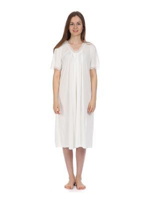 Ночная сорочка MARIPOSA. Цвет: кремовый