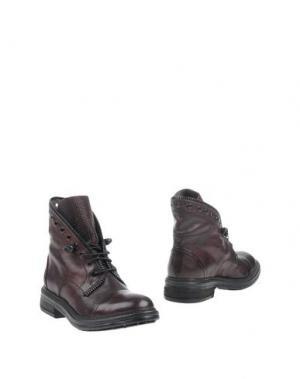 Полусапоги и высокие ботинки FRU.IT. Цвет: баклажанный