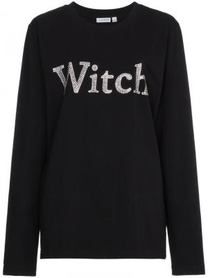 Топ witch Ashish. Цвет: чёрный