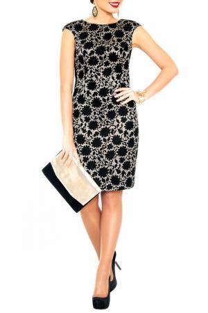 Платье E.LEVY. Цвет: черный